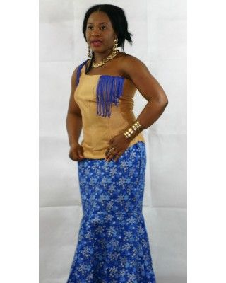 African Attire Skirt Sets AASS001