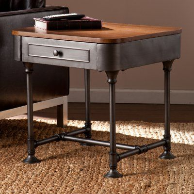 Southern Enterprises Edison End Table - HN5133-4