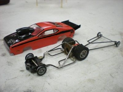 Doug Azary S Dual Motor Slot Car Chassis Slot Cars Pinterest