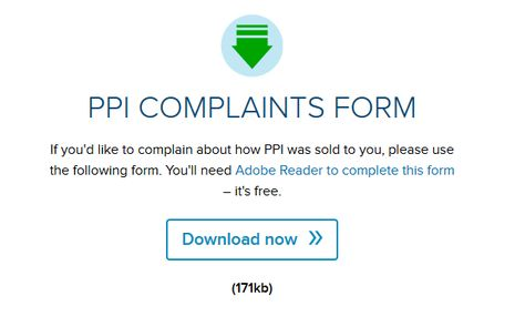 rbs ppi settlement offer claiming back payment protection - financial ombudsman service complaint form
