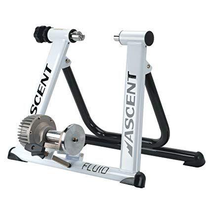 Ascent Fluid Indoor Bicycle Trainer Review Bike Trainer Indoor