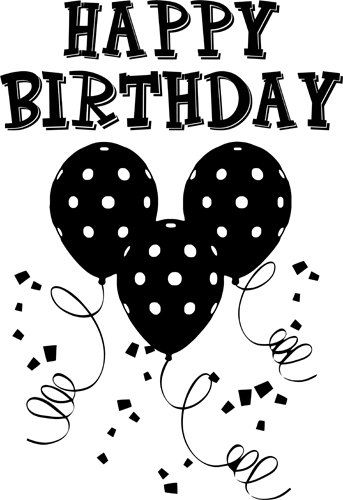 Happy Birthday Words Clipart Png Clip Art By Digitalgraphicsshop Mickey Mouse Wishing Happy Birthday