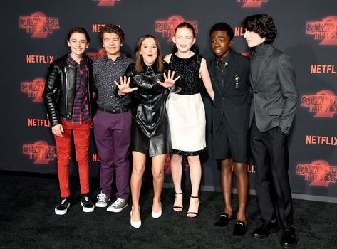 The 'Stranger Things' Cast Got All Dressed Up for the Season 2 Premiere