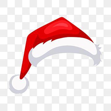 Cartoon Chapeu De Natal Vermelho De Papai Noel Clipart Santa Gorro Do Papai Noel Santaclaus Imagem Png E Vetor Para Download Gratuito Red Christmas Background Christmas Hat Santa Hat Vector