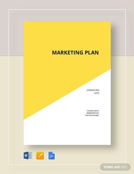 Cover Page Marketing Plan Template Free Pdf Google Docs Word Apple Pages Template Net Marketing Plan Template Marketing Plan Marketing Template