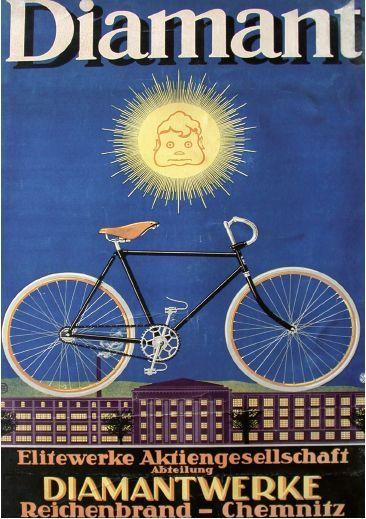 Pin Von Tom Tomlin Auf Bike Posters In 2020 Fahrrad Diamant