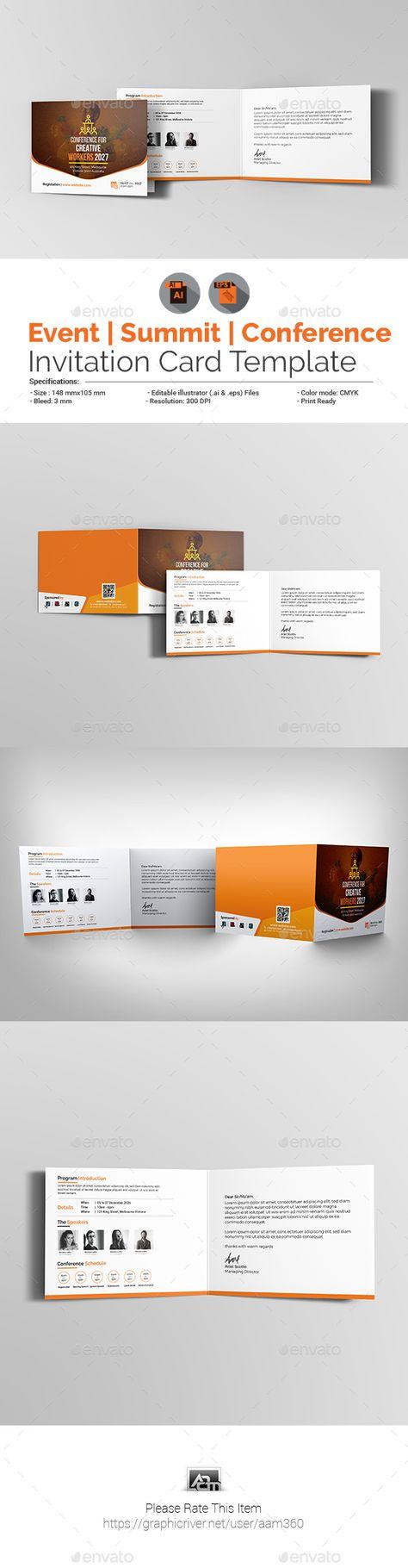 List Of Pinterest Seminar Invitation Design Business Cards