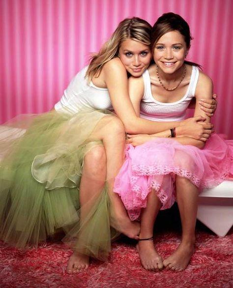 Mary-Kate & Ashley Olsen Photo: marry kate and ashley