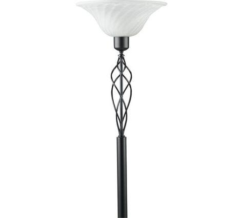 Buy Home Cameroon Uplighter Floor Lamp Black At Argos Co Uk
