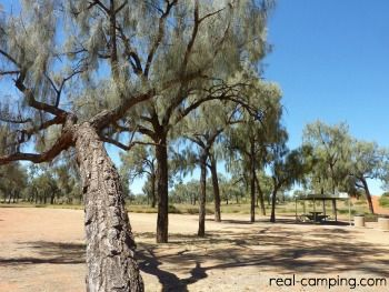 Australian Outback Free Camping Kings Canyon The Nearest Free