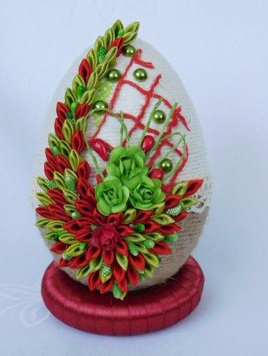 Piekne Jajko Pisanka Ozdoby Wielkanocne Rekodzielo 7802174689 Allegro Pl Egg Crafts Easter Egg Decorating Crafts
