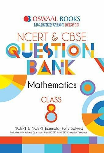 Oswaal Ncert And Cbse Question Bank Class 8 Maths For March 2019