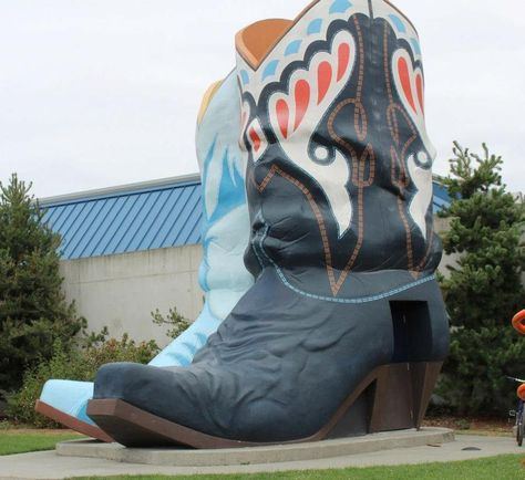 22 ft tall boots at Oxbow Park in Seattle,WA.  These were the inspiration for the party.