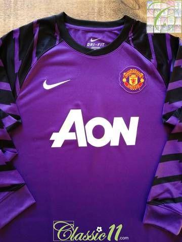Manchester United Goalkeeper Football Shirt 2010 11 Football Shirts Goalkeeper Football