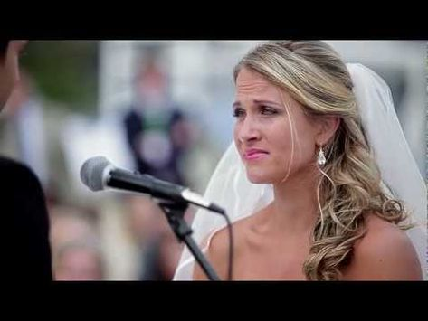 Every girl deserves a wedding video like this...watch the whole thing