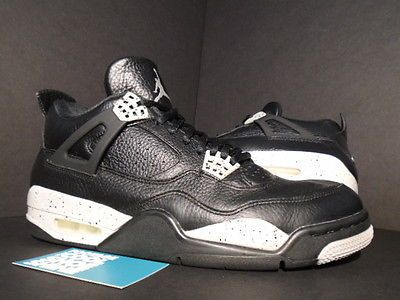 Air Jordan 4 Gris Ciment Pie Oreo
