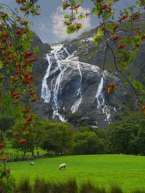 Gleninchaquin Park in Kenmare on Beara Peninsula - Co Kerry, Ireland