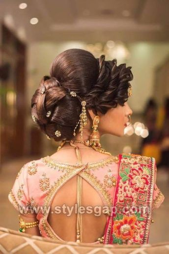 Latest Asian Party Wedding Hairstyles 2018 2019 Trends Indian Low