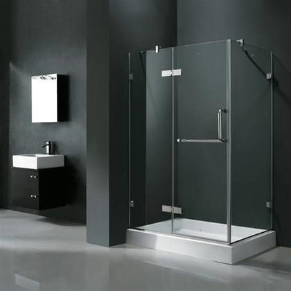 Vg6011chcl36wl 36 X 48 Corner Shower Enclosure With Frameless