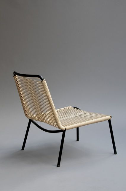 Andre Monpoix Pair Of Armchairs 151 1953 1954 Galerie Pascal Cuisinier Mobilier De Salon Chaise De Plage Pliante Fauteuil Retro