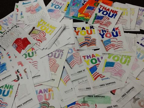 Wow! The kids are thankful for our Military! Color a card to thank our troops and #Veterans today! www.CommunityCoffee.com/ThankYou