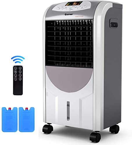 Amazing Offer On Costway Air Cooler Heater Compact Portable Air