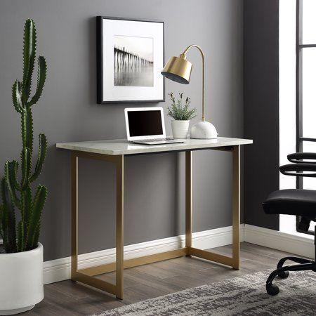 Home In 2020 Marble Desk White Desks Desk