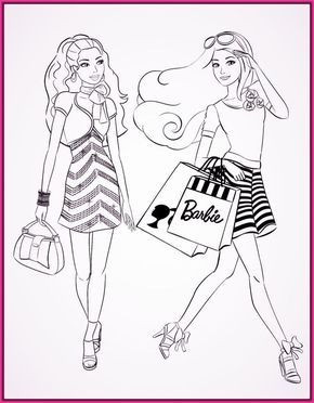 Dibujos De Princesas Barbie Para Colorear E Imprimir Barbie