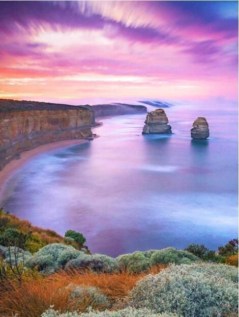 Sunset On The Sea Sunset Pictures Landscape Photography Scenery