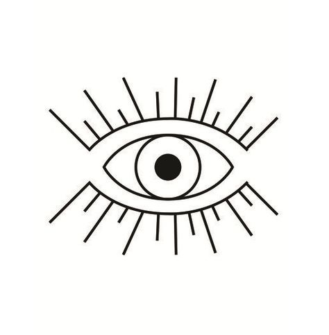 Pin De Lena Pelletier Em œil Tatuagem De Protecao Ilustracao