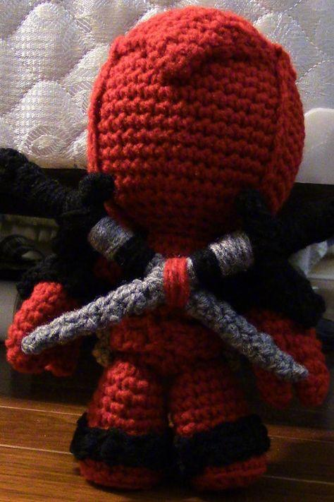 Deadpool | Modelos de crochê, Crochê livre, Padrões livres de crochê | 711x474
