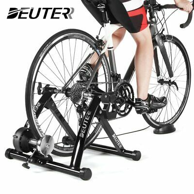 Details About Indoor Exercise Bike Trainer Home Training 6 Speed