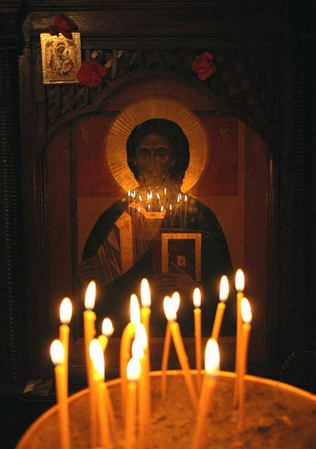 """gentlebranches: """" Holy icon of Chist in monastery of st. Erazmo of Ohrid by +ThanatoS+ on Flickr. """""""