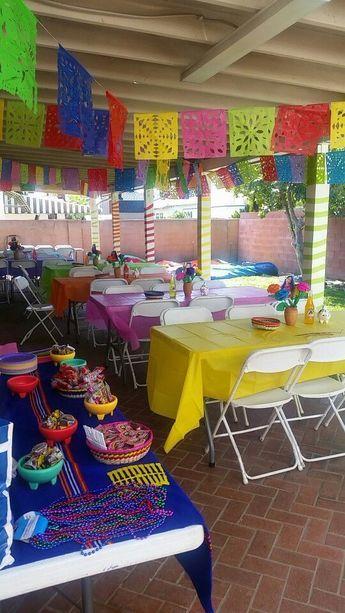Diy Cinco De Mayo Party Decorations Mexican Birthday Parties