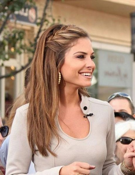 Easy Updos Long Straight Hair Casual Hairstyles For Long Hair Loose Hairstyles Easy Hairstyles