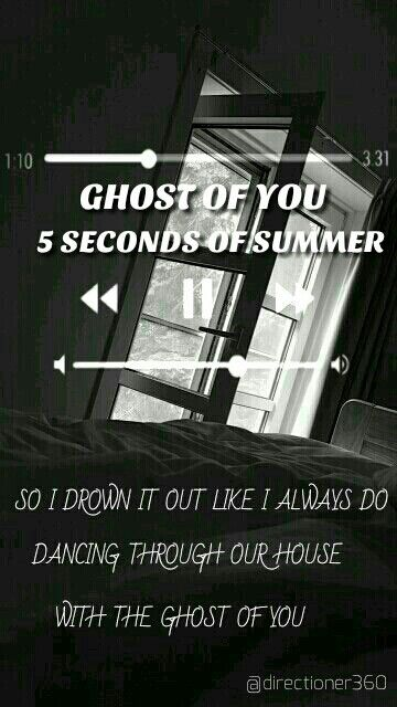 5sos Ghost Of You Lyrics 5 Seconds Of Summer Youngblood 5