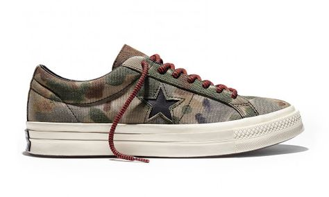 456733310da915 Converse First String CONS One Star 74  Brookwood Camo  Pack ...