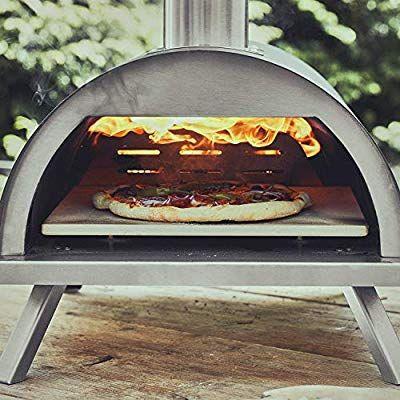 Amazon De Burnhard Edelstahl Outdoor Pizzaofen Nero Inkl Pizzaschieber Pizzastein Hochwertiger Pizza Backofen Premium Pizzastein Pizza Backofen Pizzaofen
