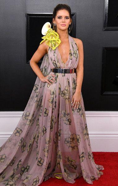 Maren Morris Nice Dresses Grammy Awards Red Carpet Revealing Dresses