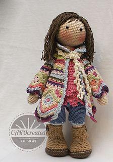 Ravelry: Doll JOSH pattern by CAROcreated design | 320x224