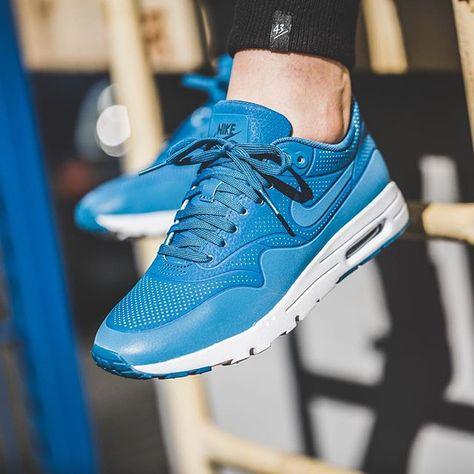 hot sales 4be9d 81ce9 Nike WMNS Air Max 1 Ultra Moire (blau) - 43einhalb Sneaker Store Fulda