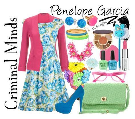 """Criminal Minds: Penelope Garcia"" by disney49 ❤ liked on Polyvore"