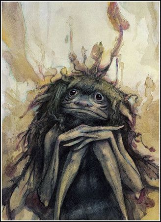 Froud - мимишечки) by Brian Froud Looks like me!by Brian Froud Looks like me! Brian Froud, Forest Creatures, Woodland Creatures, Magical Creatures, Fairytale Creatures, Fantasy Kunst, Fantasy Art, Fantasy Magic, The Dark Crystal