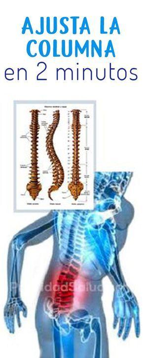 ejercicios para la columna vertebral desviada