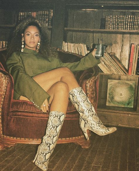 Beyonce in Brother Vellies