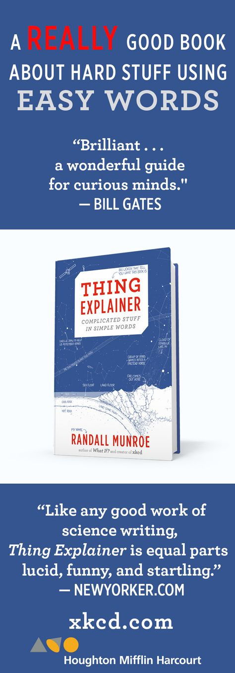 Thing Explainer By Randall Munroe The Perfect Gift For The People In Your Life Who Are Curious About The World An Science Writing Book Worth Reading Book Lists