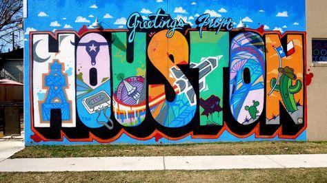 12 Totally Instagram-Worthy Murals in Houston
