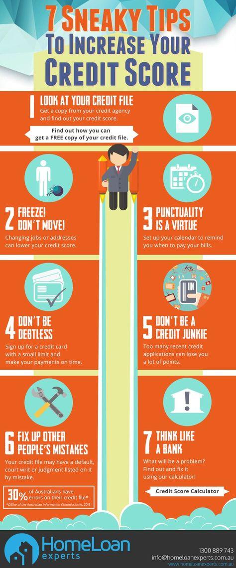 7 Quick Ways To Improve Your Credit Score