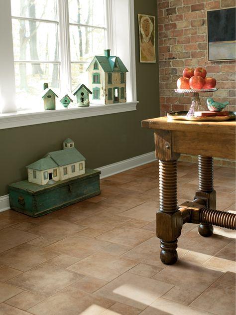 Crossville Porcelain Tile - Cotto Americana Tan Bathrooms - küchen mülleimer ikea