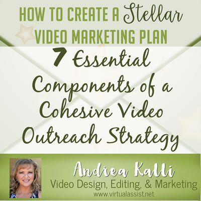 How to Create a Stellar Video Marketing Plan - 7 Essential - Components Marketing Plan